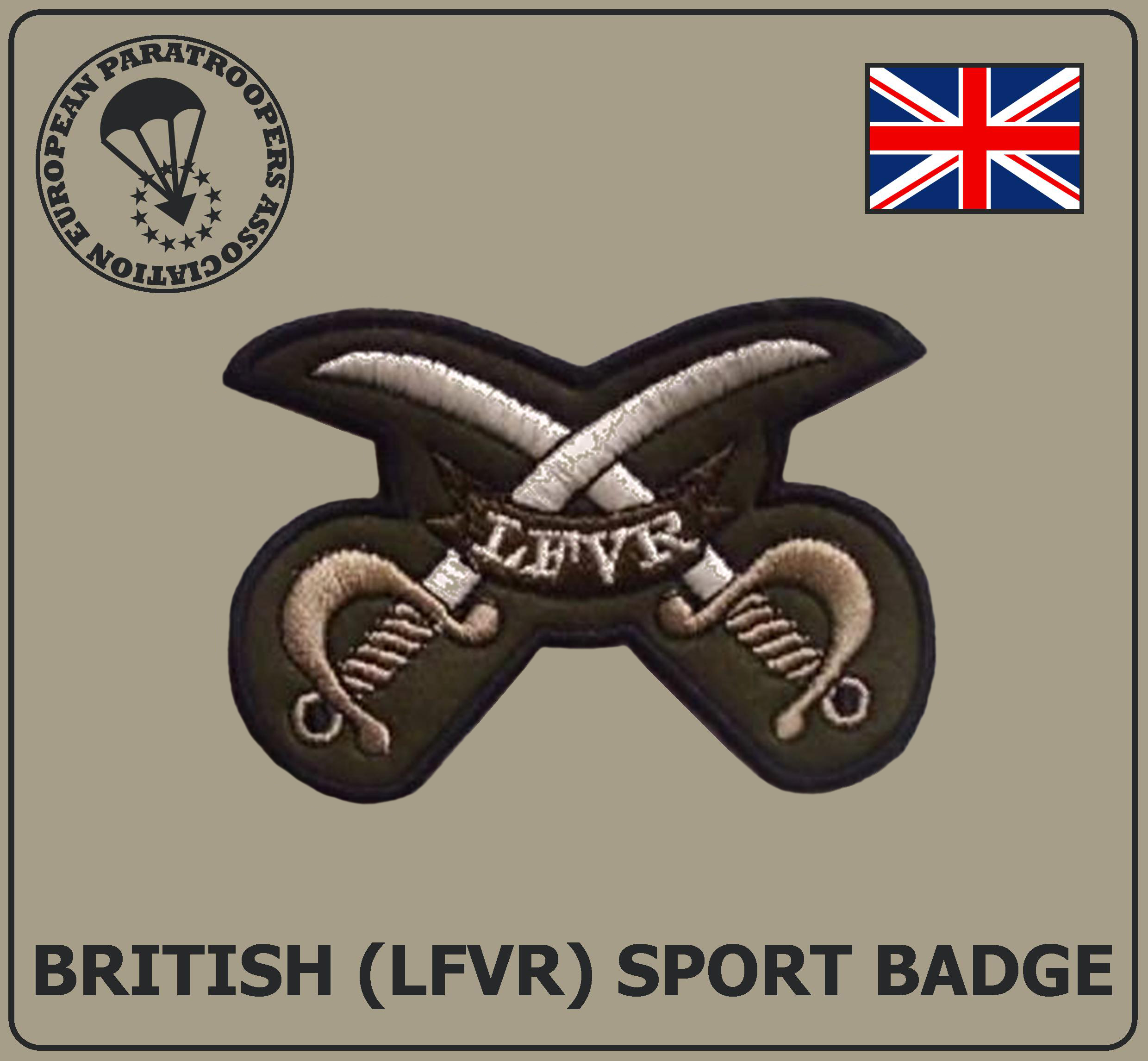 BRITISH LFVR SPORT BADGE