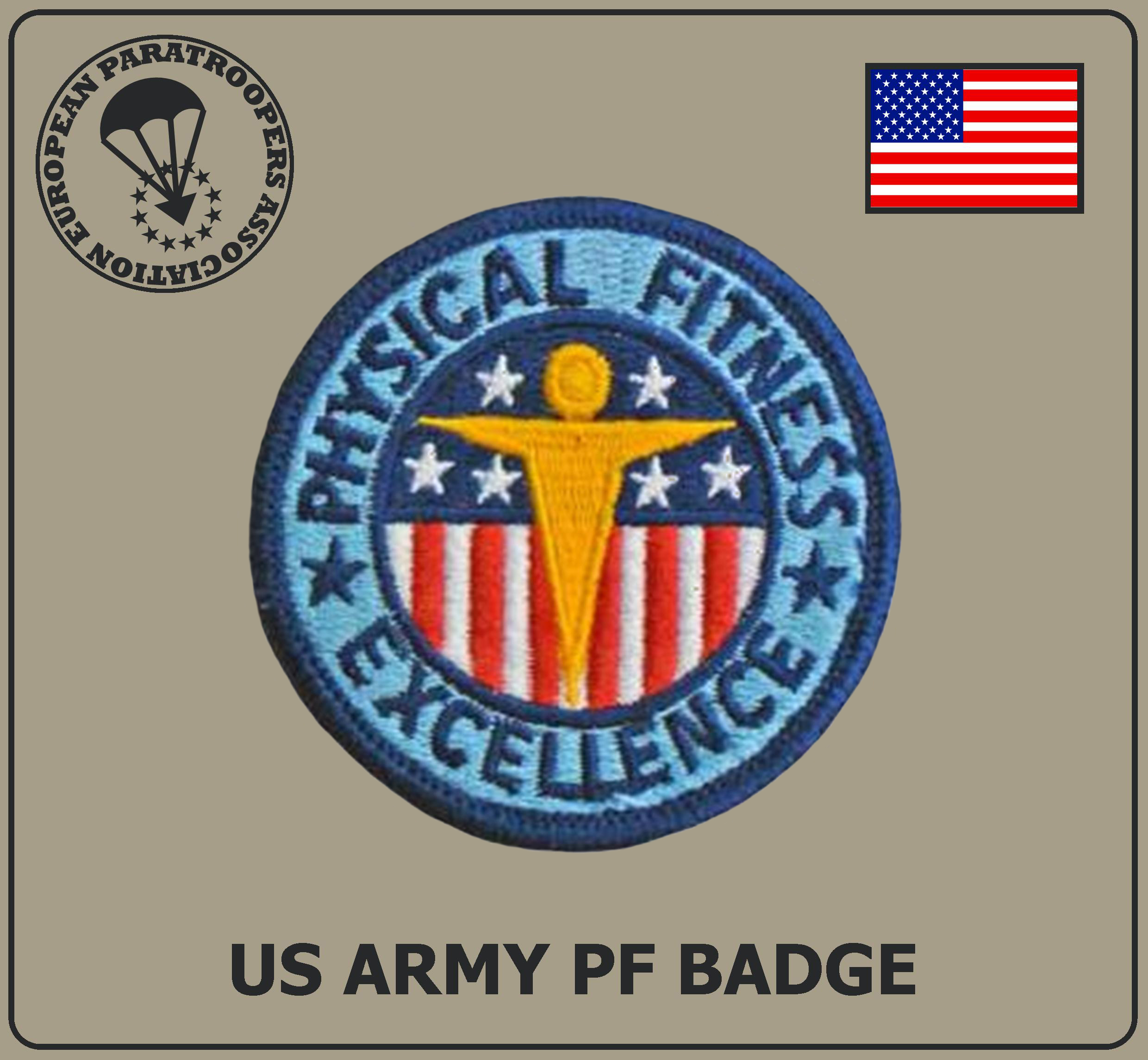 US ARMY PF BADGE