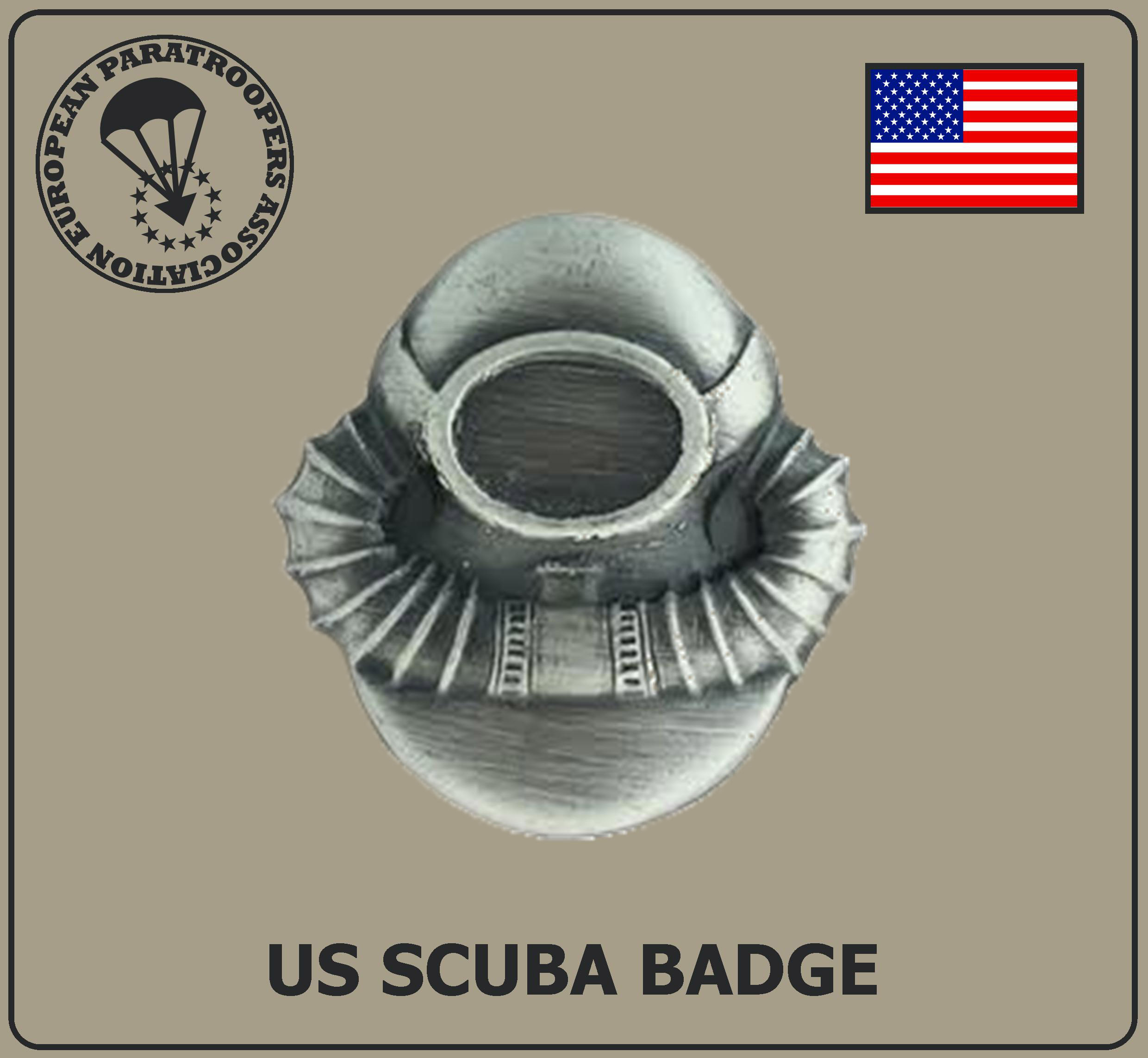 US SCUBA BADGE