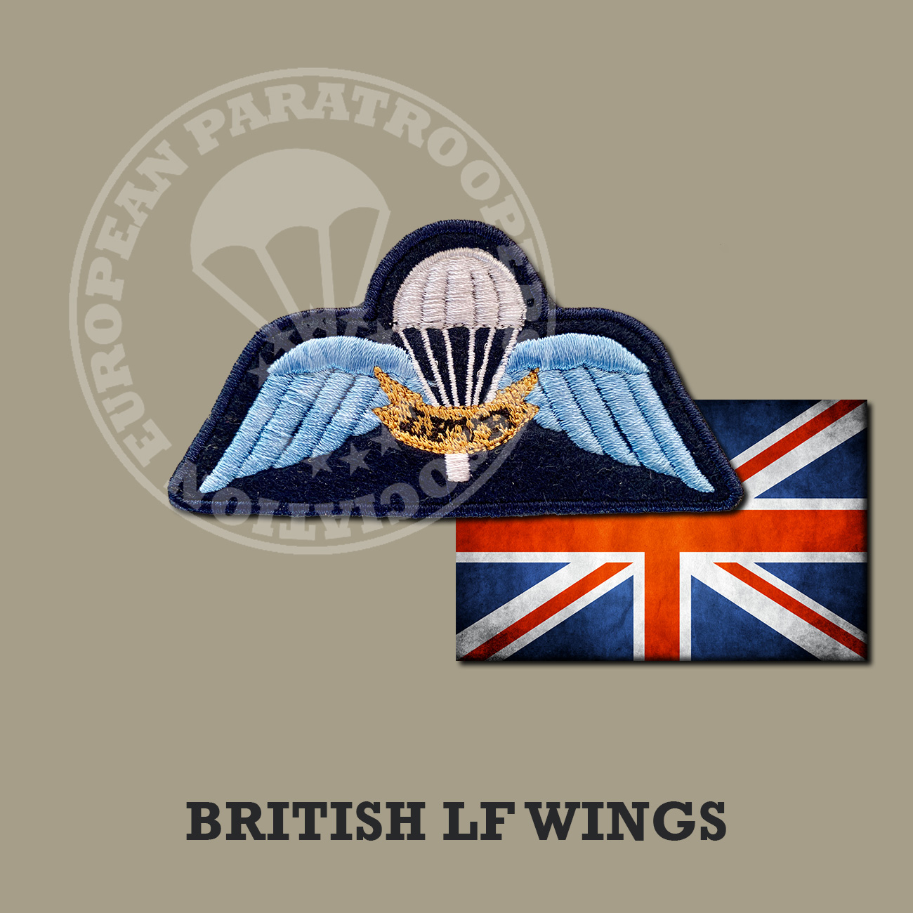 BRITISH LFVR JUMP WINGS