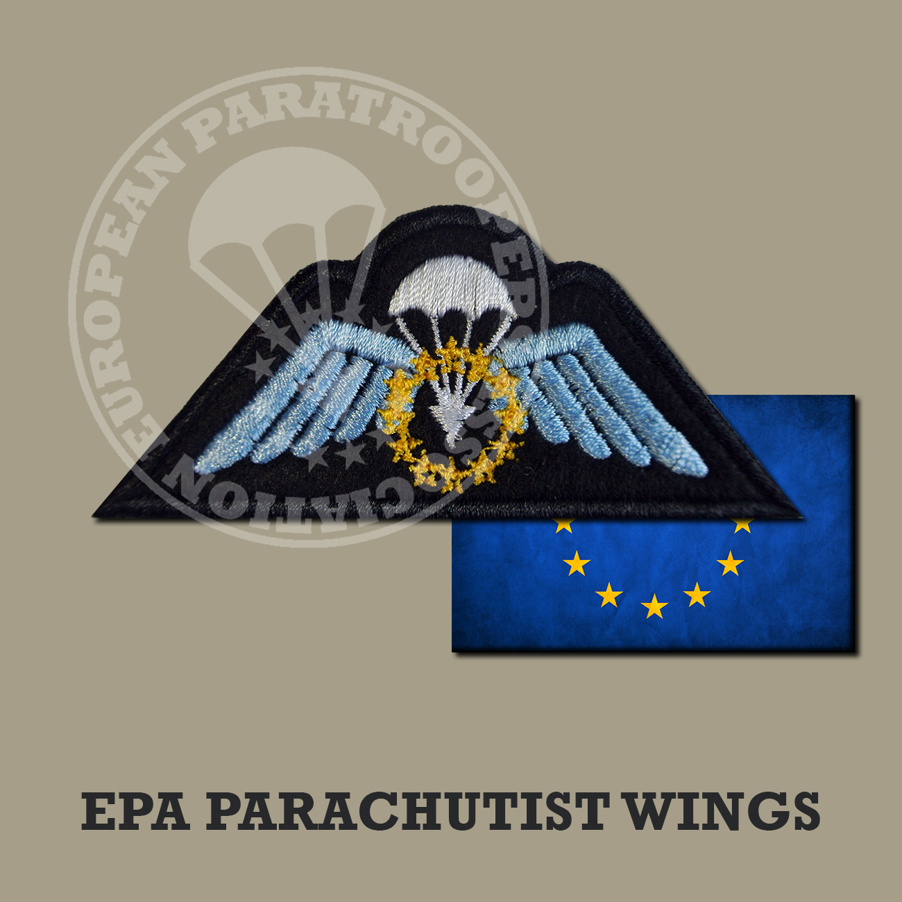 EPA PARACHUTST WINGS
