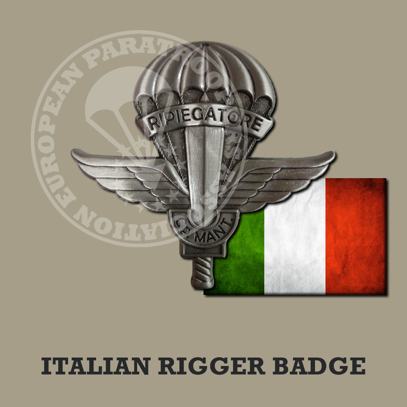 ITALIAN RIGGER BADGE