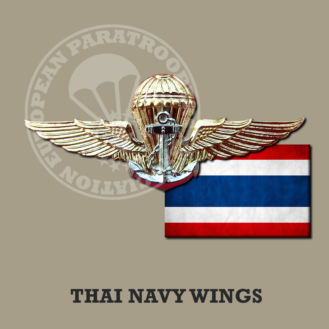 THAI NAVY JUMP WINGS