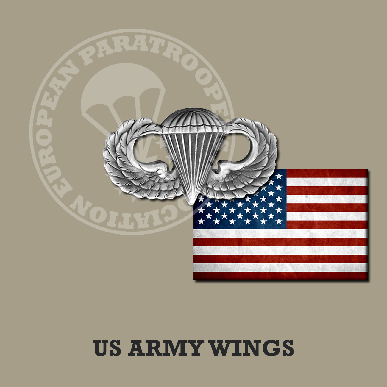US ARMY JUMP WINGS