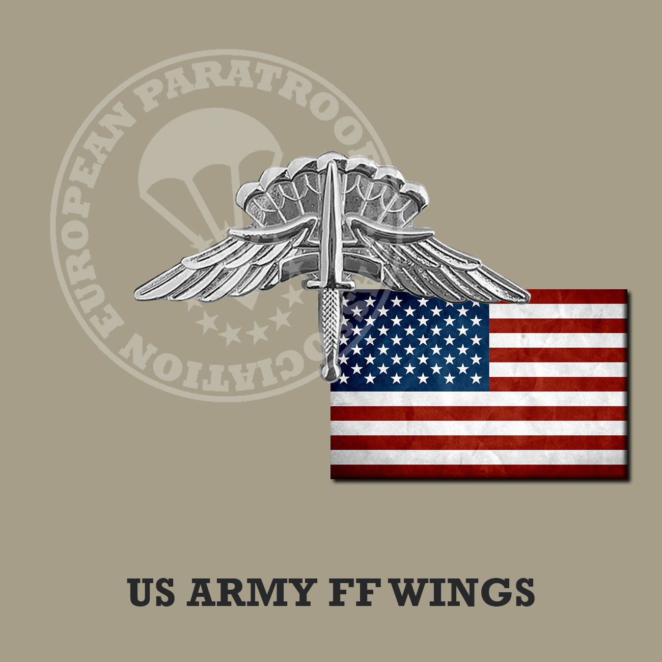 US MILITARY FF JUMP WINGS